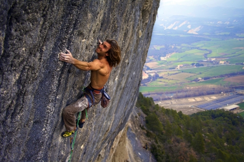 Free soloing 3
