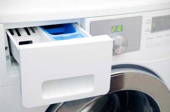 Modern washing machine drawer