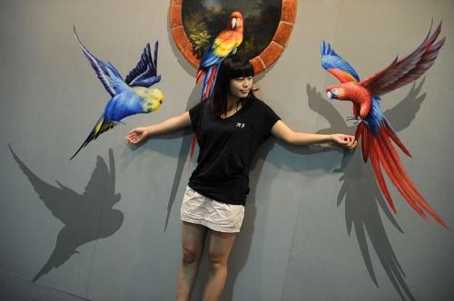 3D paintings 3