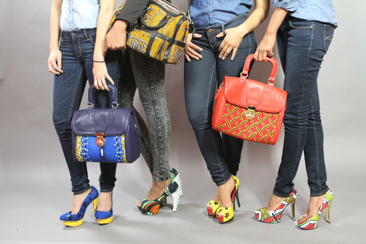 Ankara shoes and bags