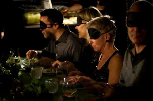 Dining in the dark 1