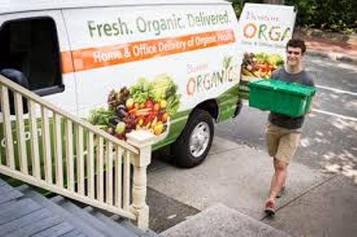Sales of organic produce delivered to your door 2