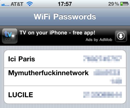 Wi-Fi Passwords 1