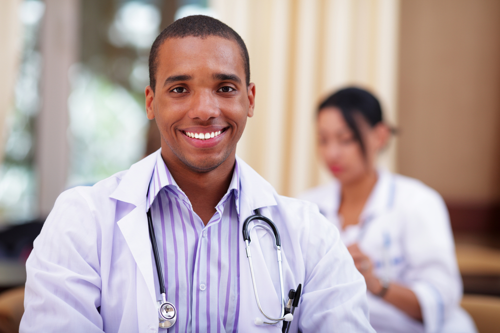 young-black-doctor