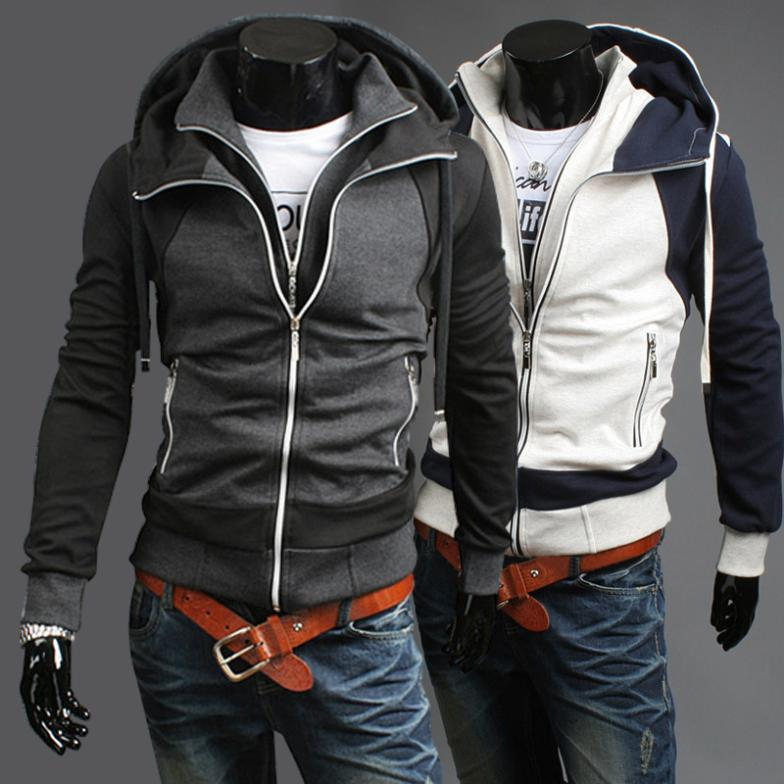 Free-Shipping-2013-Men-s-Sports-Hoodies-And-Sweater-100-Cotton-Jacket-double-layer-slim-stylish