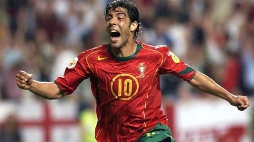 2004, Rui Costa, Estádio do Sport Lisboa e Benfica, Lisbon. European Championship 2004