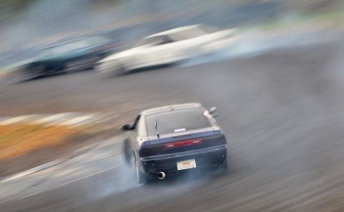 Side braking drift