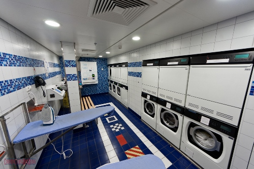 Disney Fantasy Self Service Laundry - Forward Starboard Launderette 9500