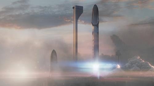SpaceX Interplanetary Transport System 1