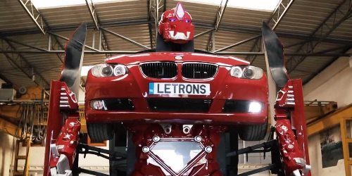 transformer that can turn into a BMW 1