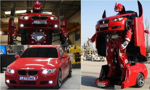 transformer that can turn into a BMW 2