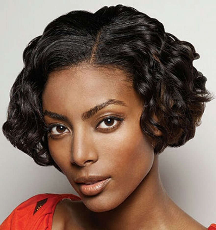 Short Bob Hair Style For Curly Black Women Latest Hair Styles - Deva Hairstyles
