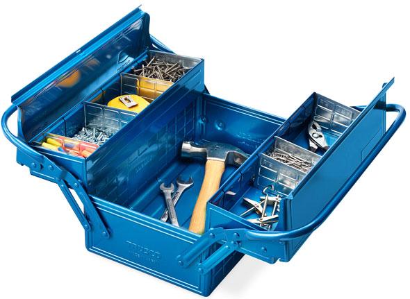 Trusco-Cantilever-Tool-Box-Open