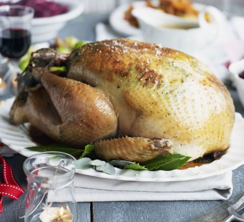 lemon-herb-basted-simple-roast-turkey