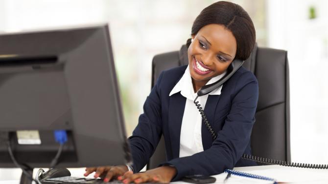 business-woman-talks
