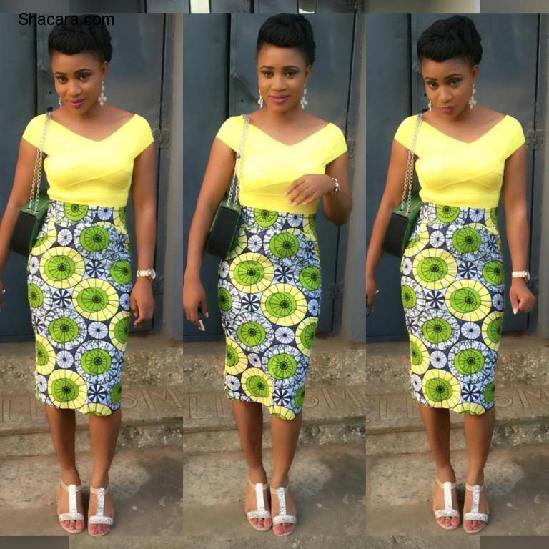 ankara styles gown