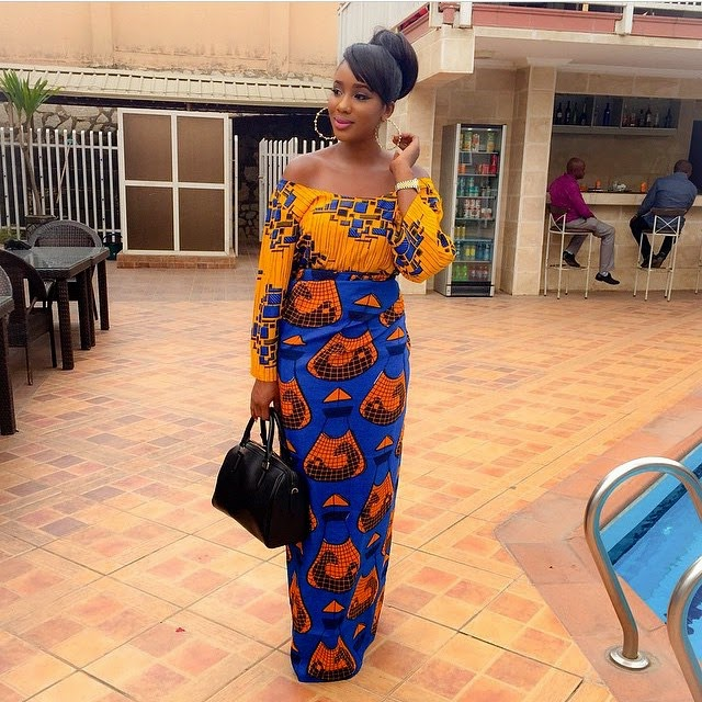 Ankara Iro and Buba dress