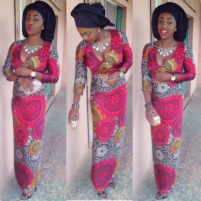 dress Ankara Iro and Buba