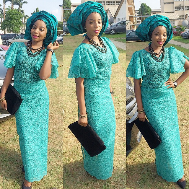 Iro and buba lace fashion