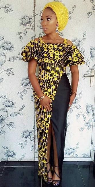 asoebi gowns
