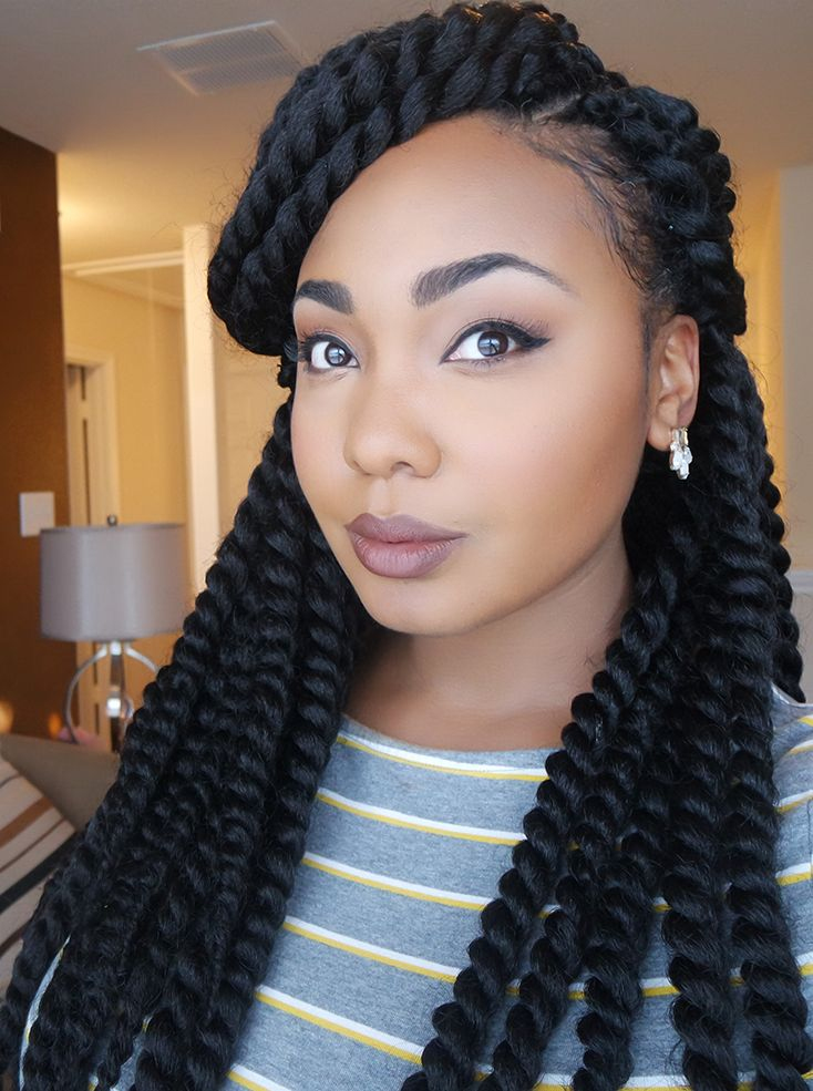 Thick twisted braids