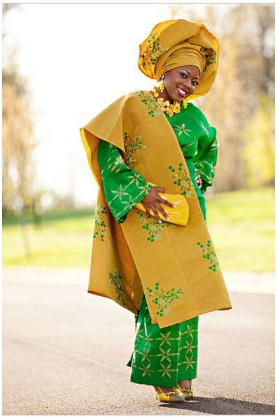 Aso oke iro and buba dress