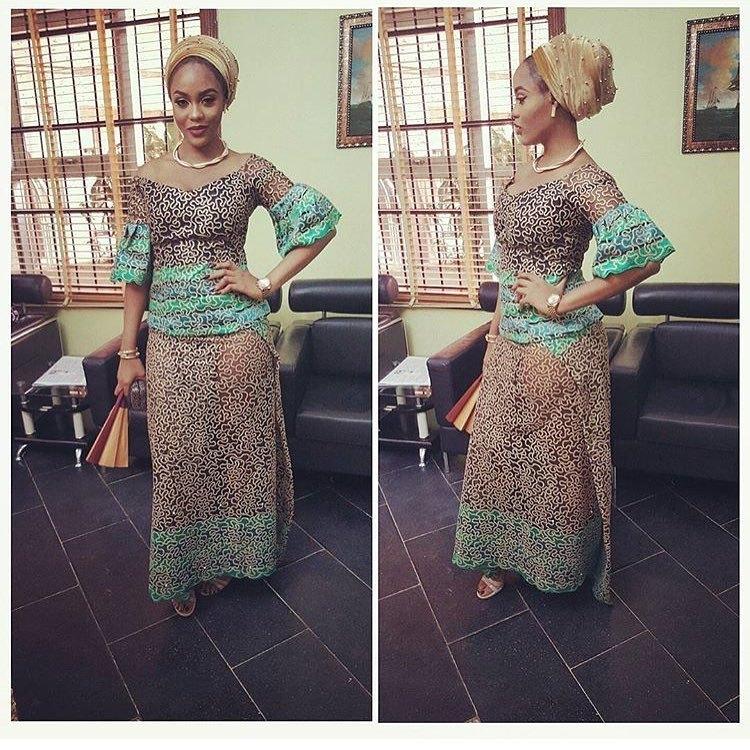 aso ebi styles lace