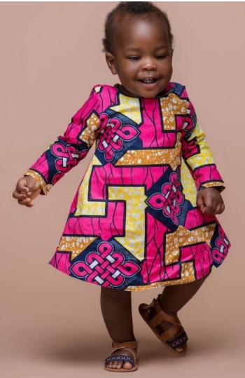 ankara styles for baby girl