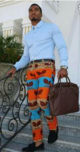 ankara pants for guys