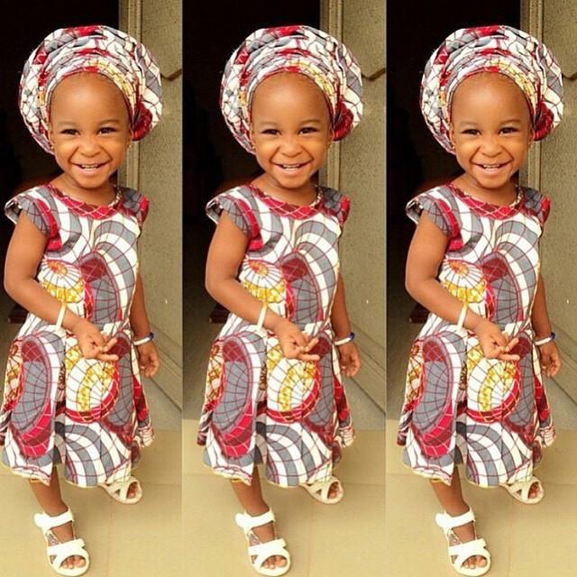 baby ankara dress