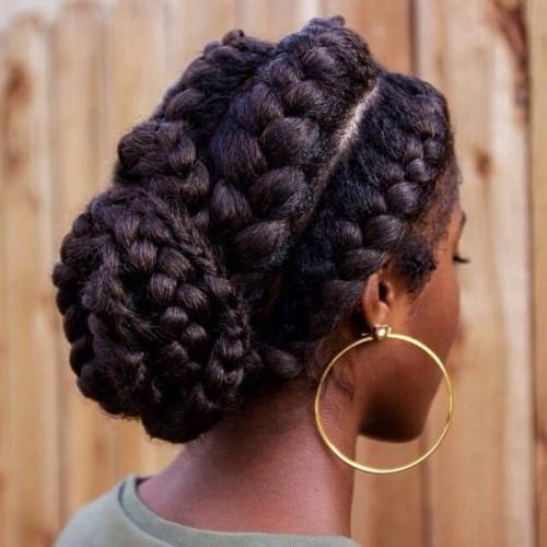 hairstyles in ghana