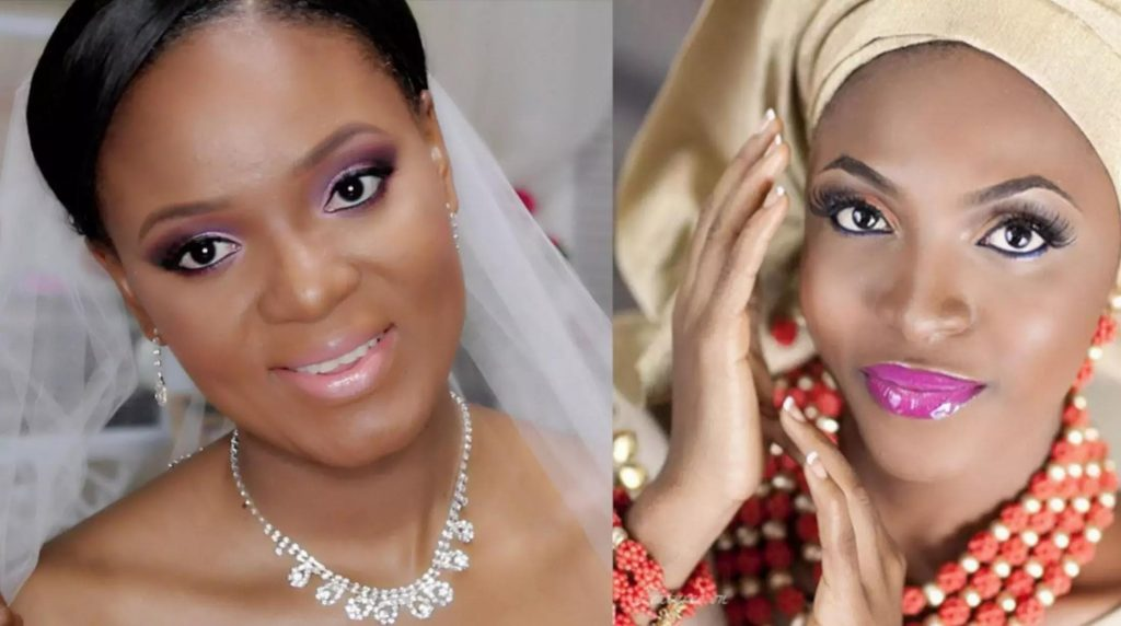 Nigerian bridal makeup