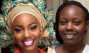 nigerian bridal makeup before and after