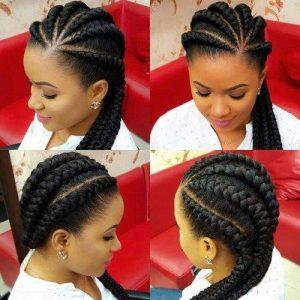 3D Ghana Braids