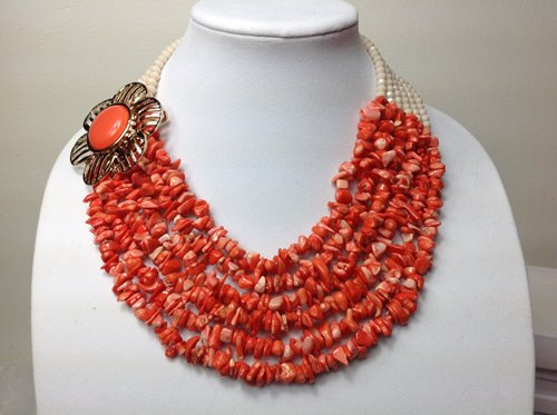 Nigerian beads necklace