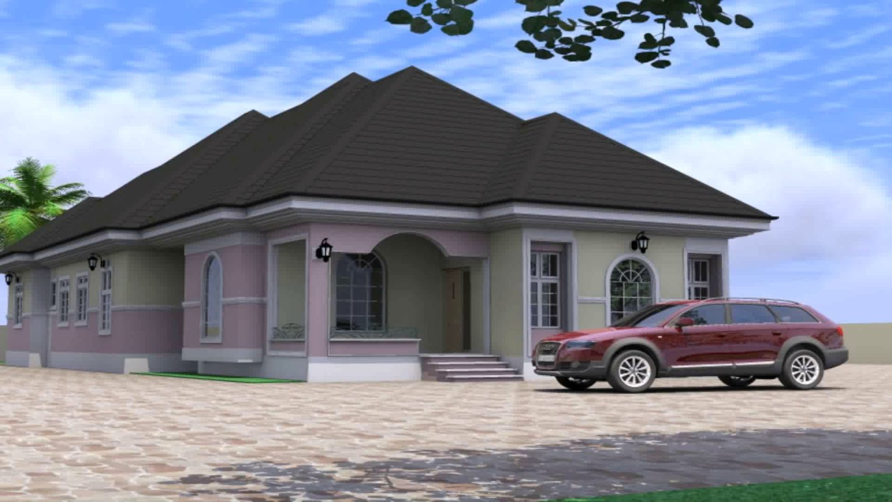 Nigerian bungalow houses