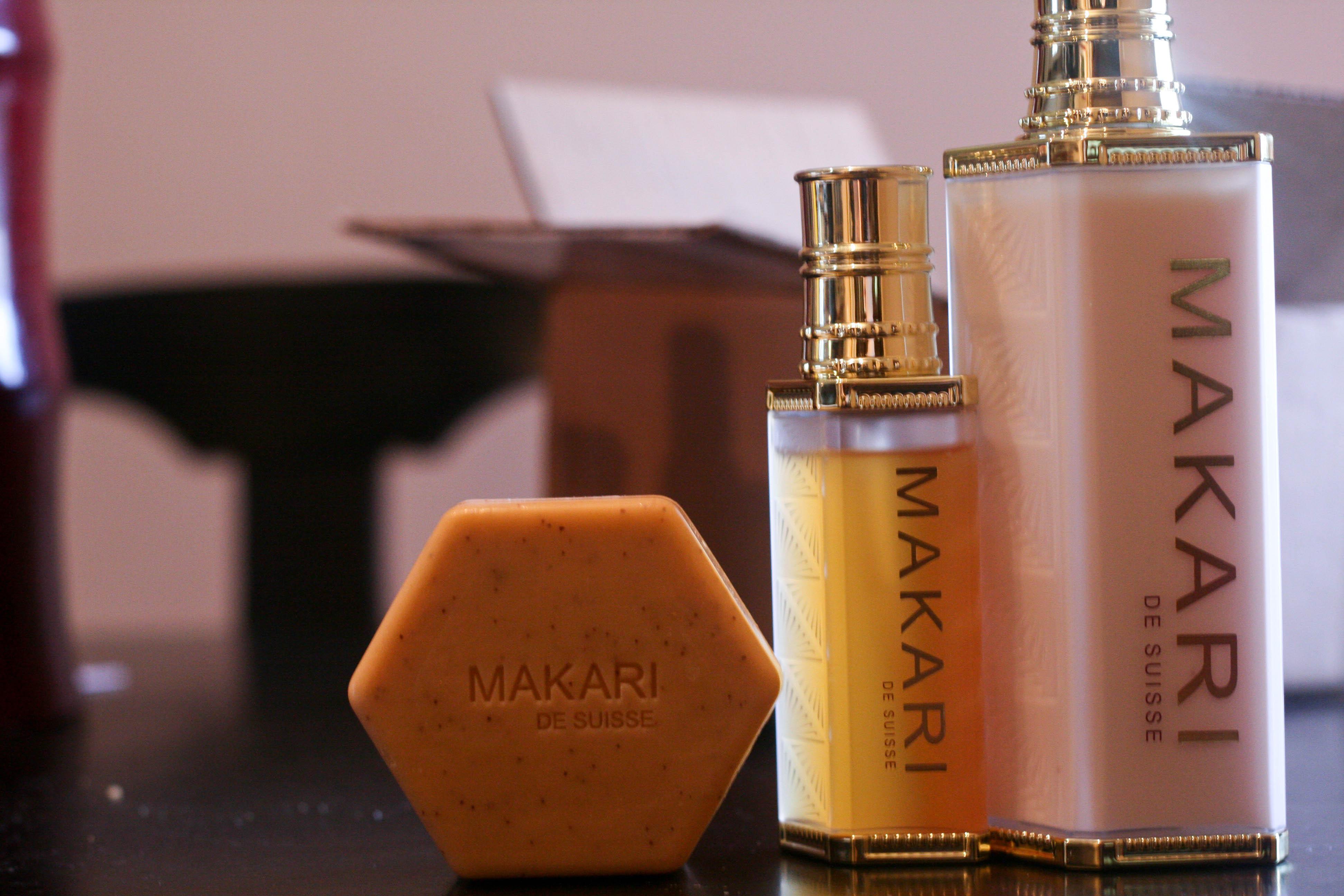 Macari products for dark skin