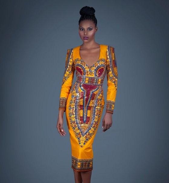 dashiki gown