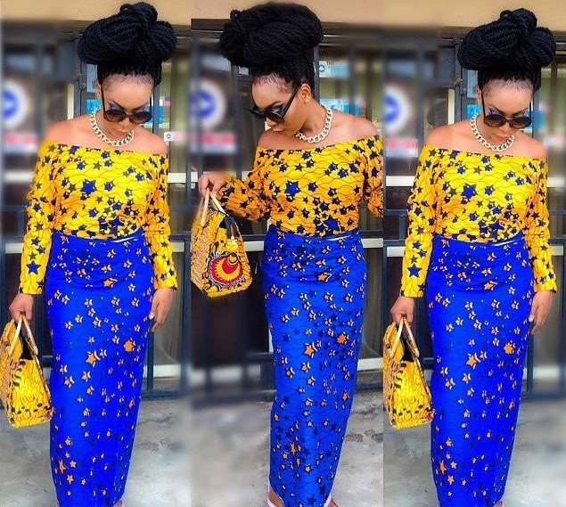 Wedding Hairstyles In Nigeria 2019: 25 Latest Ankara Styles For Weddings 2019