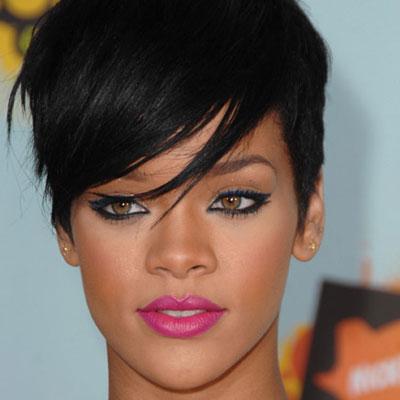 Rihanna short hair styles