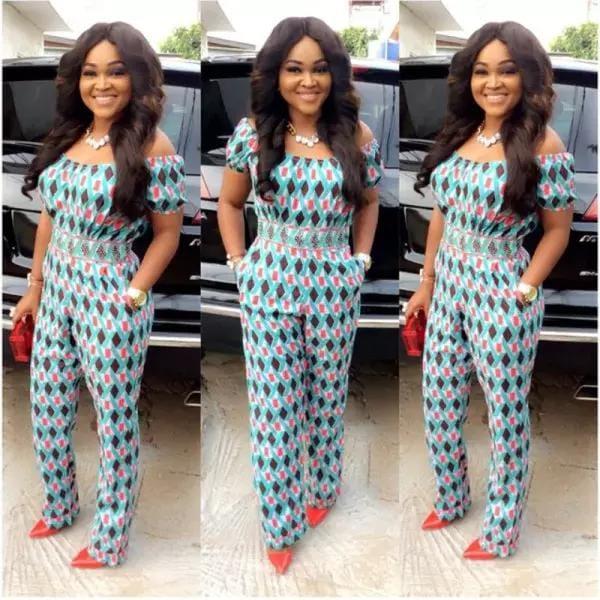 Mercy Aigbe fashion style