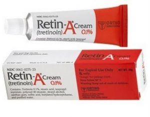 Retino-A Tretinoin cream for pimples