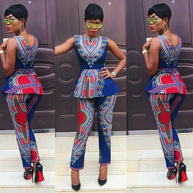 ankara trouser styles for ladies