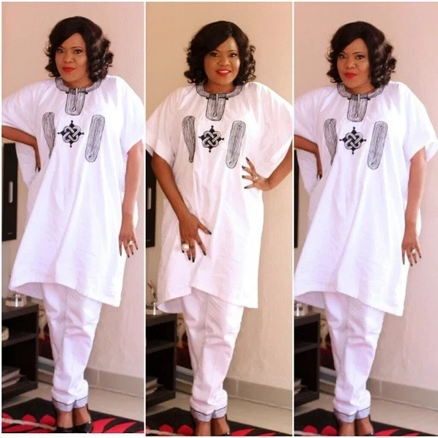 Atiku skirt and blouse
