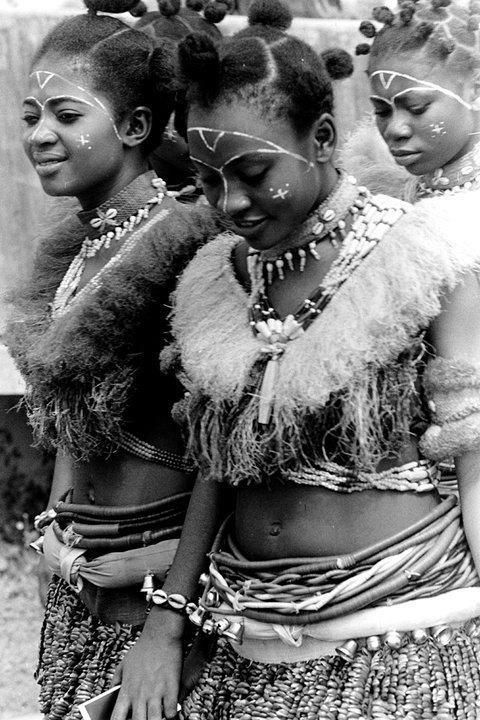 Ibibio female traditional attire