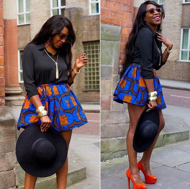Nigerian chiffon styles