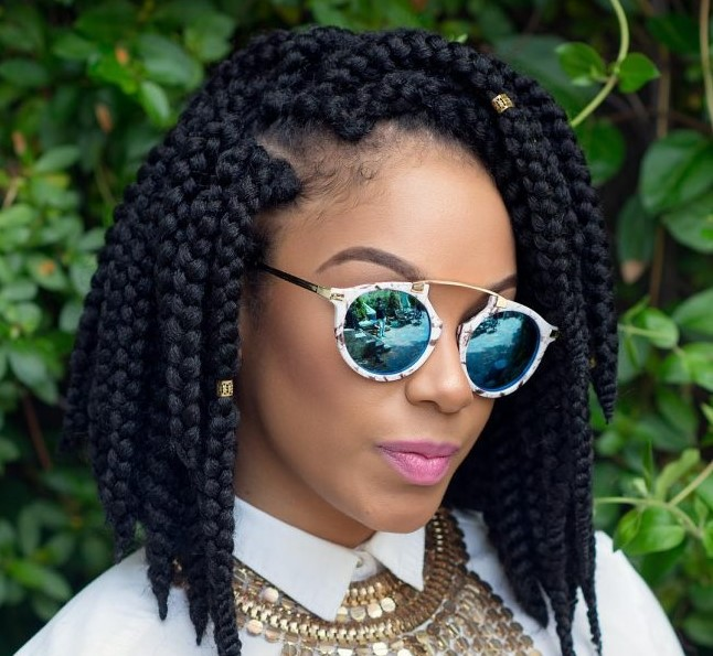 box braids styles