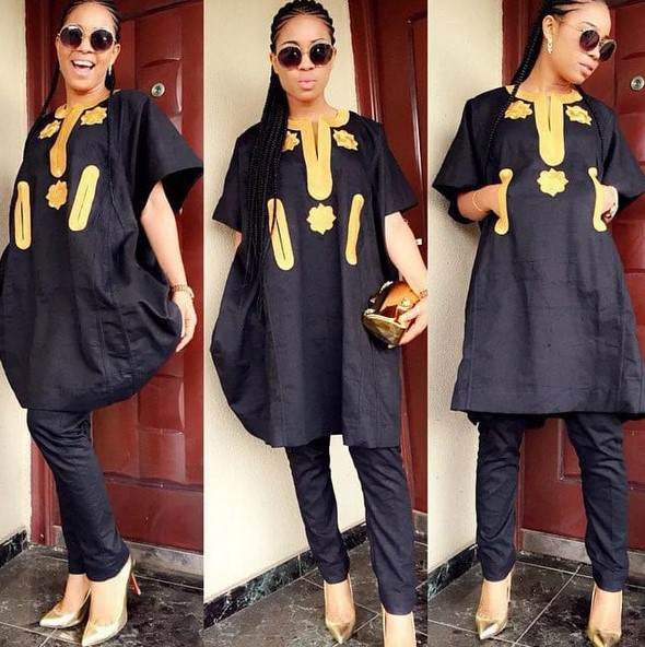 agbada styles for ladies