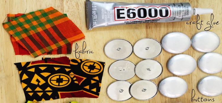 how to make ankara earrings