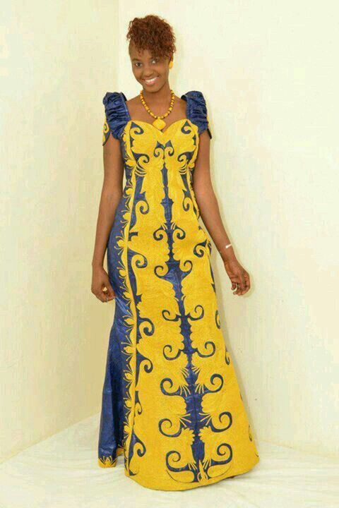 Senegalese long gowns